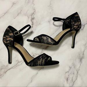 🛍 3/$45 BCBGeneration Dressy Black Heels